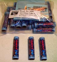 C6-5 25-pack rocket motors